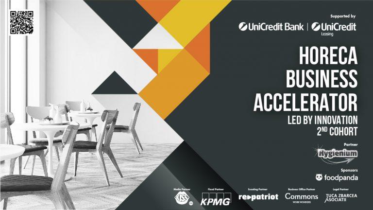 HoReCa Business Accelerator: granturi de 17.000 de euro și potențial de investiții de peste 100.000 de euro