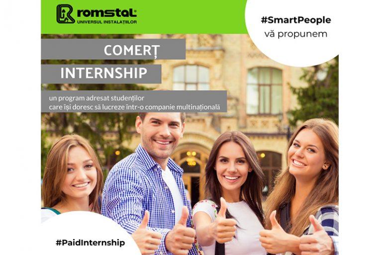 Aplică pentru un internship la Romstal