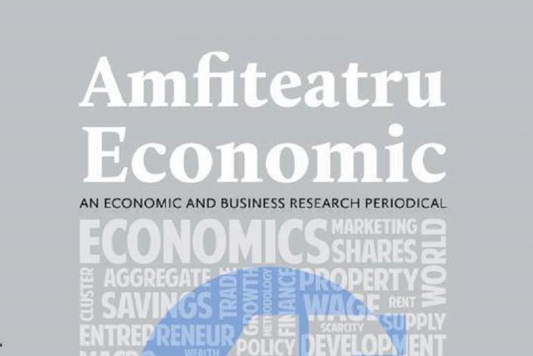 Revista Amfiteatru Economic ocupă locul 12 în clasamentul celor 142 de reviste românești