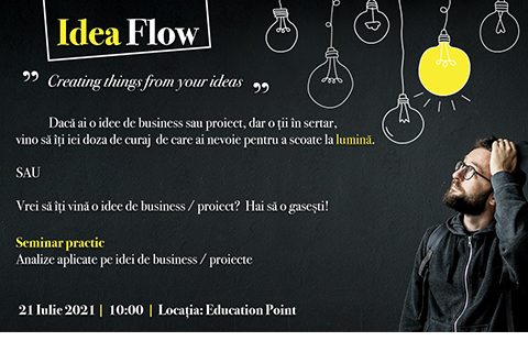 Seminar: Idea Flow – Creating things from your ideas