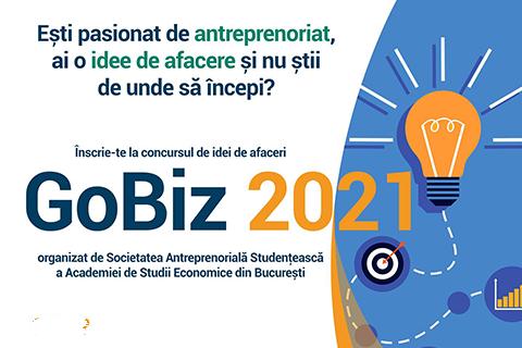 Concursul de idei de afaceri GoBiz 2021